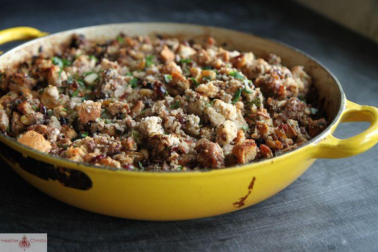Sourdough Skillet Stuffing | Recipe