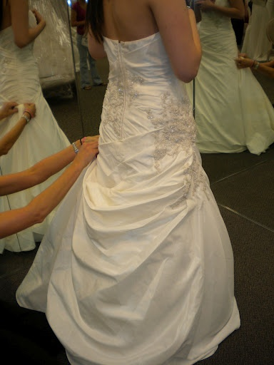 Different Types Of Wedding Gown Bustles 29
