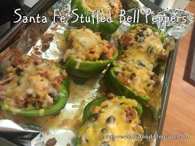 Santa Fe Turkey Stuffed Bell Peppers | Food/Drinks | Pinterest