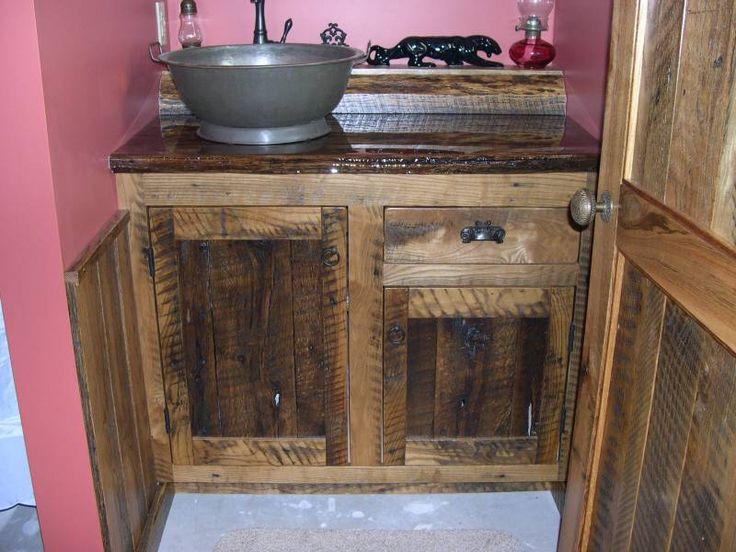 Rustic Love The Bowl Sink Vintage Bathroom Pinterest