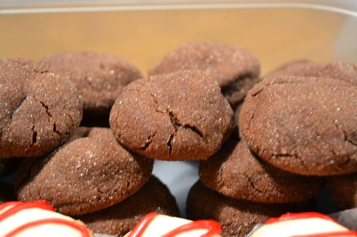 Mayan Chocolate Cookies 3/4c. Shortening, 1/2c. butter, 3/4c. white ...