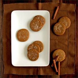 ... snap. These cookies have the bright bite of cinnamon & a crisp chewy
