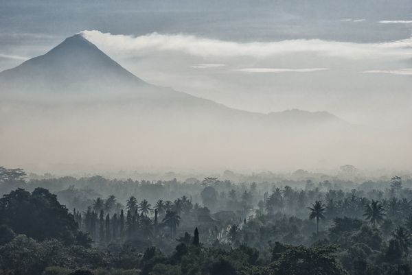 volcano mist