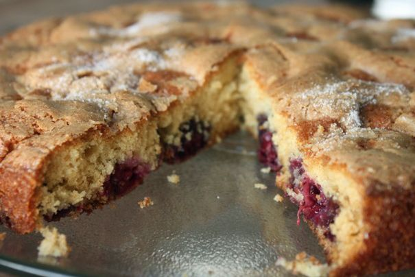 Blackberry Buttermilk Snacking Cake - Amateur Gourmet