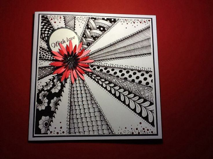 104 Best Images About Zentangle Cards On Pinterest