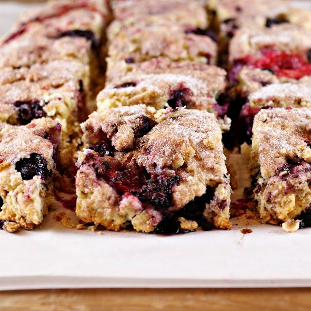 scottish oat scones with berries | Feed Me! | Pinterest