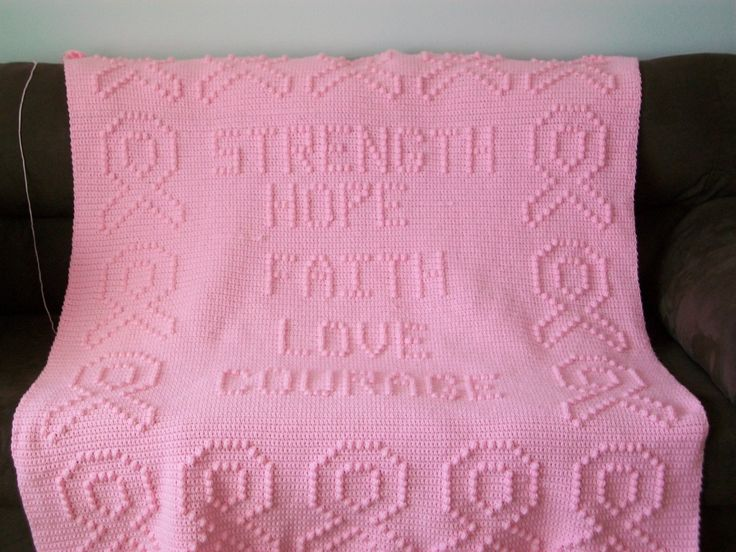 Crochet For Cancer : Free Patterns For Cancer Awareness Quilts Ribbons ...