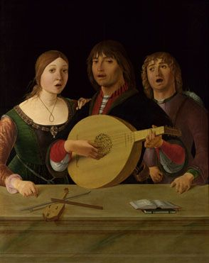 A Concert  about 1485-95, Lorenzo Costa