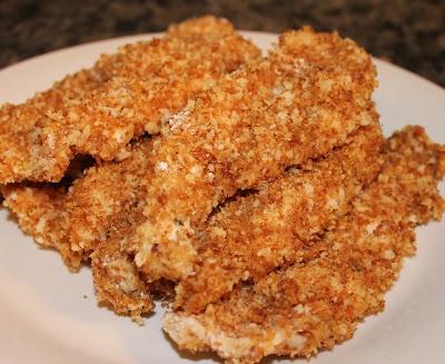 Crispy Baked Chicken Fingers | Main Meals - Chicken/Turkey | Pinterest