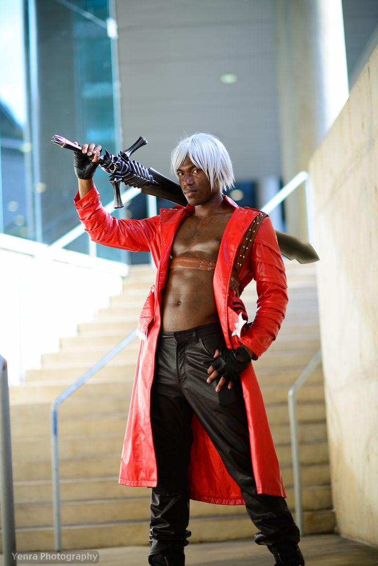 Jordan Mufasa Chambers as Dante [Devil May Cry 3] #cosplay