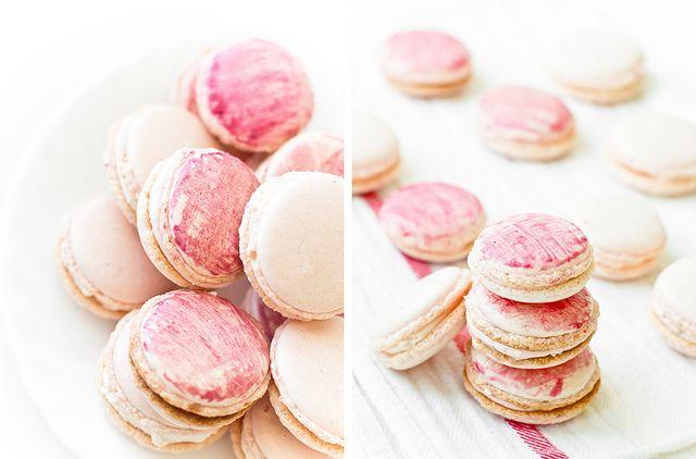 Strawberry Macarons | Favorite Recipes | Pinterest