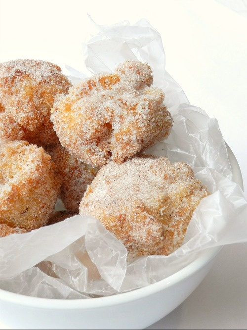Brown Butter Donut Holes | recipes | Pinterest