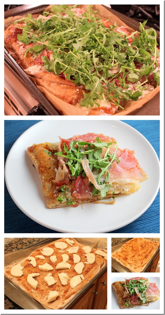 Fig and Prosciutto Pizza with Arugula | Savory Food | Pinterest