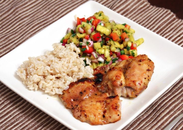 Maple Glazed Chicken Kabobs With Sweet Jalapeno Salsa Recipe ...