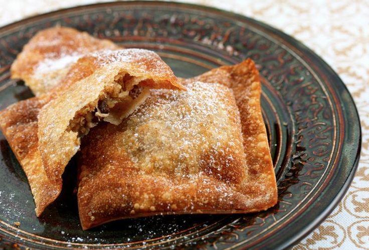 Apple Crisp Wontons | No Bake/Summer Deserts | Pinterest