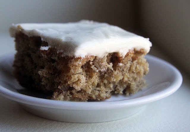 Banana Sheet Cake | Favorite recipes | Pinterest