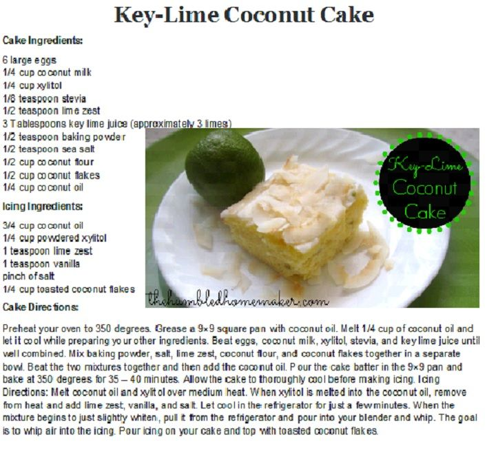 Key Lime coconut Cake | Cakes and Pies | Pinterest