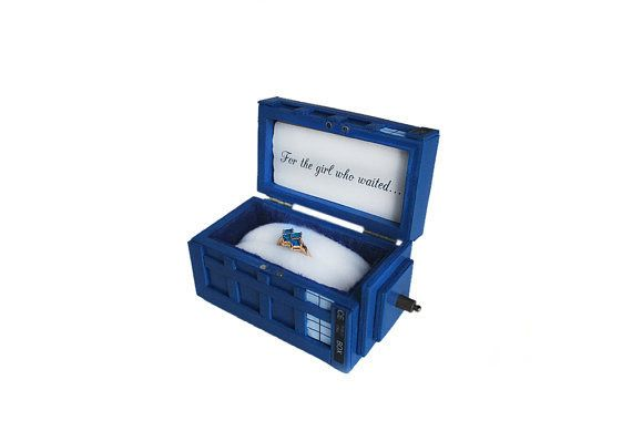 Doctor who engagement box