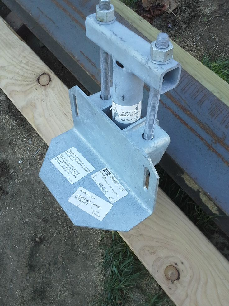 Chance c 150 foundation bracket equipment need to for Foundation brackets