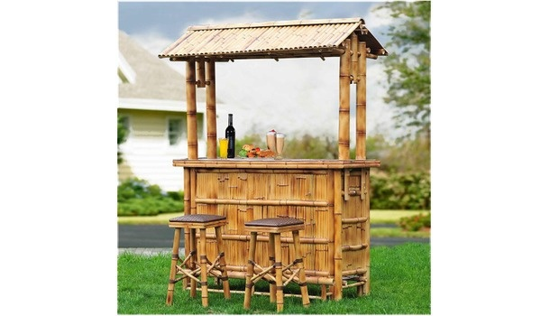 Patio Tiki Bar : patio patio ways to shop all patio collections Bamboo Patio Tiki Bar