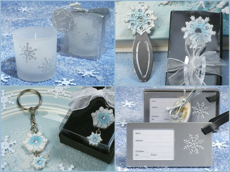 Winter Wedding Favors from hotref.com