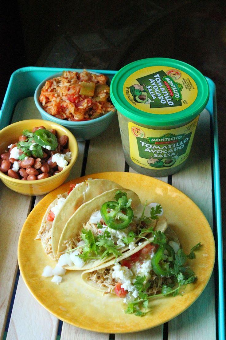 Recipe: Slow Cooker Green Chili Chicken Tacos #ChooseSmart #Shop