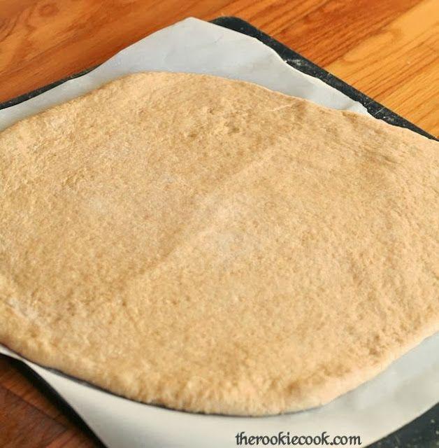 Whole Wheat Bread Machine Pizza Dough | Bread & Breakfast | Pinterest