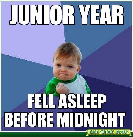 junior year of high school