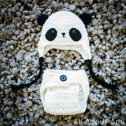 Free Crochet Baby Panda Outfit Pattern. Free Crochet Fun ...