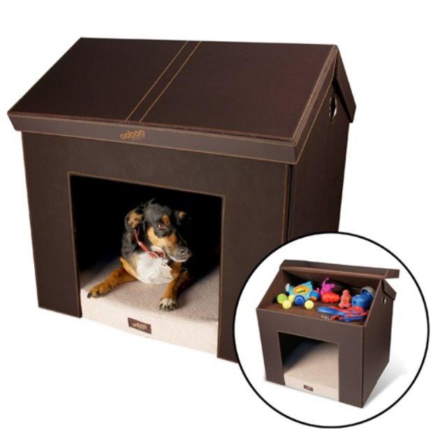 Pet haven indoor folding dog house stylish amp useful pet products