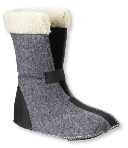 Women s L.L.Bean Snow Boot Liners: Winter Boots | Free Shipping at L.L