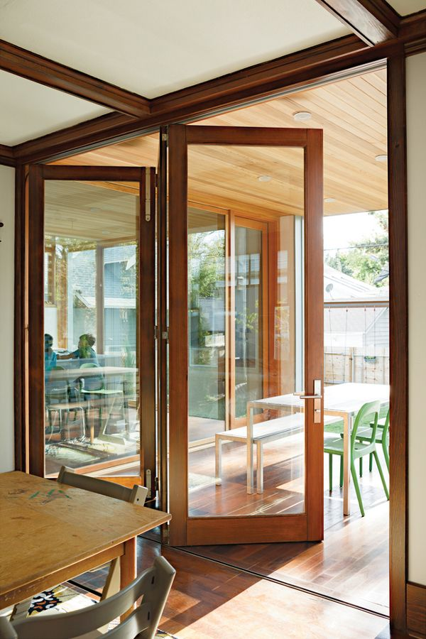 Accordion Folding Doors Exterior 600 x 900