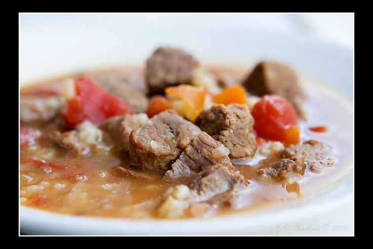 Slow Cooker Beef and Barley Soup | Soups & Salads | Pinterest