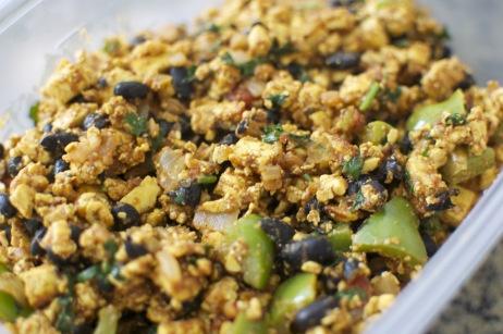 Salsa Tofu Scramble | Food I Want to Eat: Tofu | Pinterest