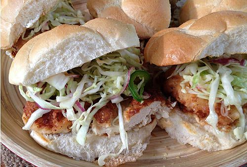 Fried Tomatillo And Spicy Mayo Sandwiches Recipes — Dishmaps