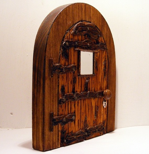 Wooden fairy door for Wooden fairy doors