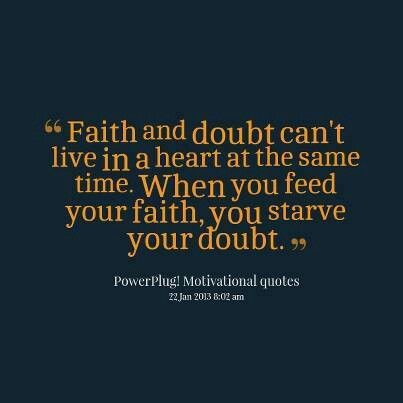 essays on faith and doubt Faith essays: over 180,000 faith essays nathaniel hawthorne also uses symbolism to illustrate the loss of faith and start of doubt with the pink ribbons that.
