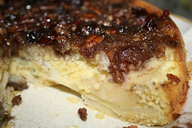 Apple Upside Down Cornmeal Cake | Recipe