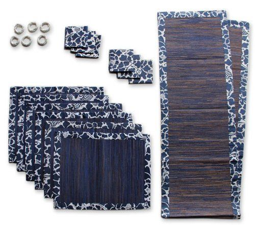 fibers Cotton Fibers Artisan   and Philips Suma natural  Table runners table Natural and Nyoman Artha