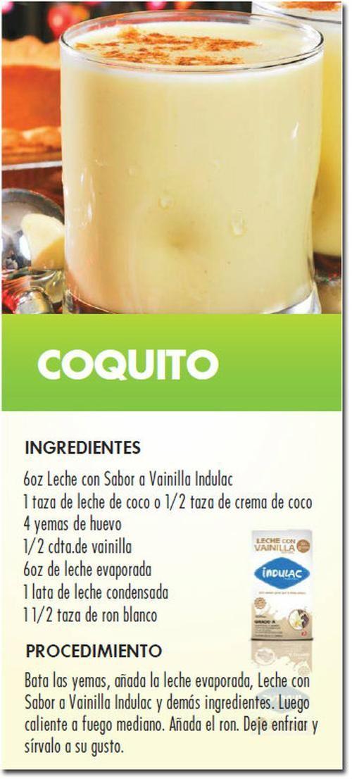 coquito de pistacho receta