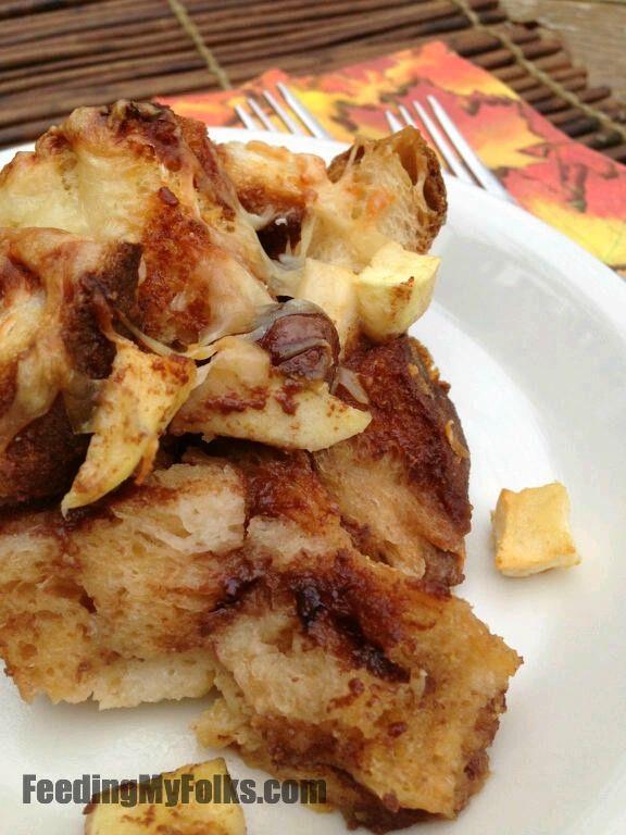 Caramel Apple Bread Pudding   Tasty treats   Pinterest