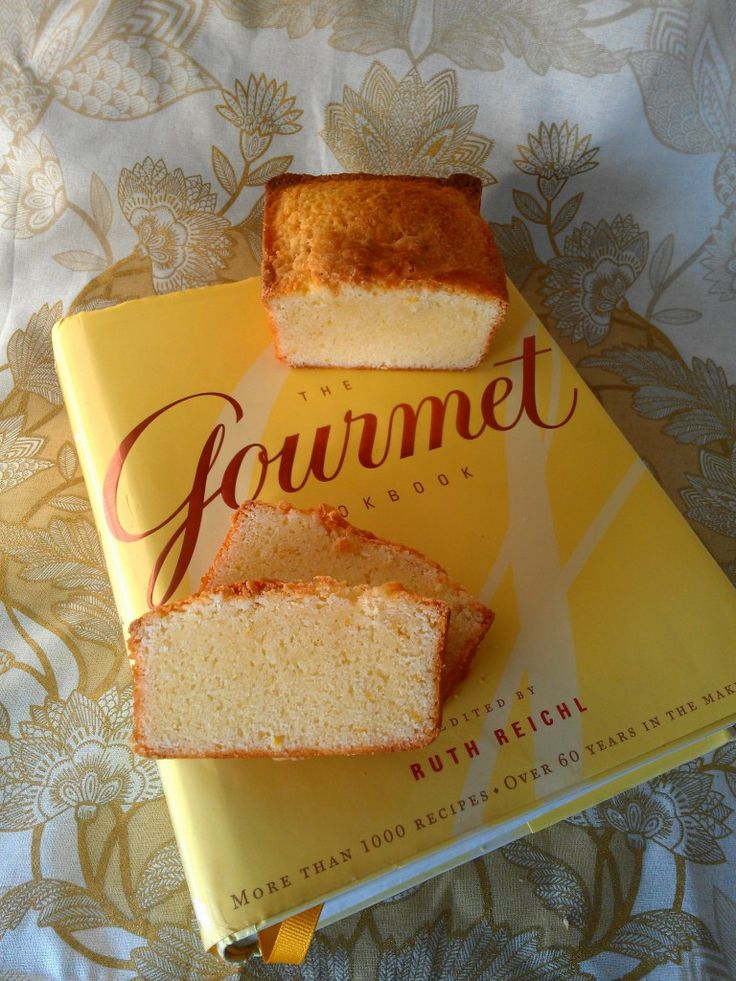 Meyer Lemon Pound Cake with Coconut Oil from Eliot's Eats