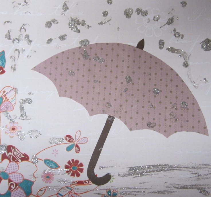 umbrella toddler craft i cut an umbrella out for lilly and let her