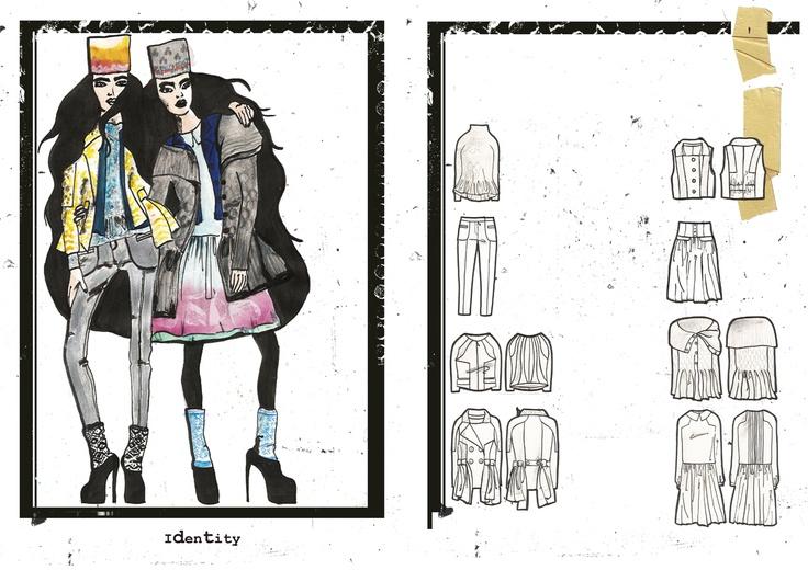 Fashion Sketchbooks Artist Study With Thanks To Deimante