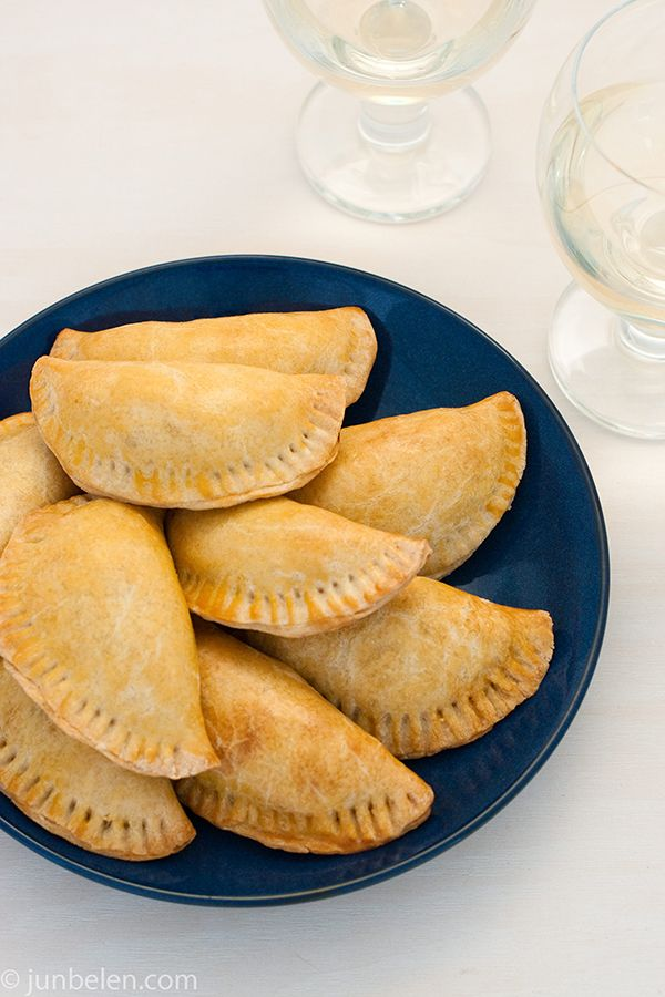 How to Make Beef and Chorizo Empanadas...only thing I would change ...