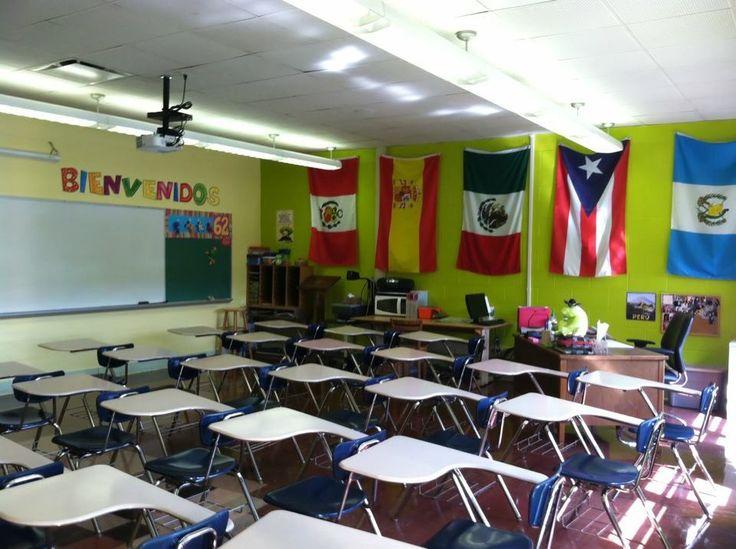 Spanish Classroom Decorations High School : My awesome spanish classroom teaching pinterest