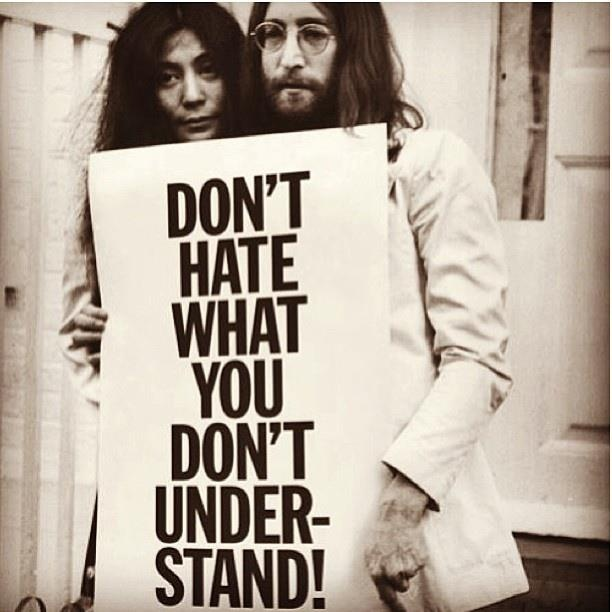 John Lennon and Yoko Ono | Wisdom/Be The Difference ...