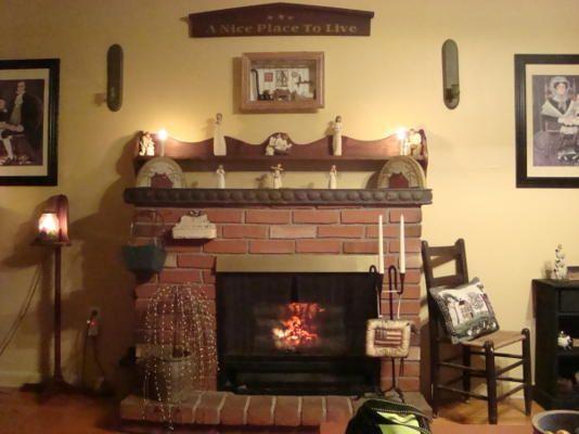 Primitive living room primitive interior decorating pinterest