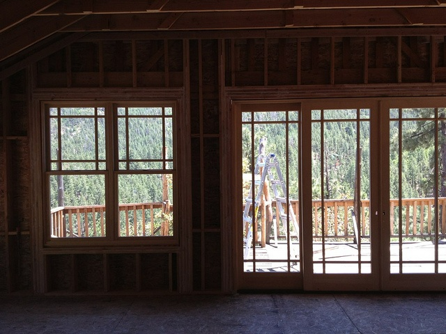 8 Foot Sliding Glass Patio Door 640 x 480