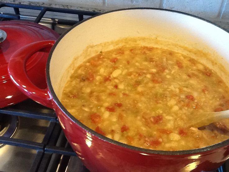 Tennessee White Chili Recipe — Dishmaps